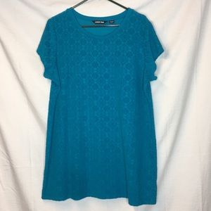 Lands End short sleeve sweater or cover up